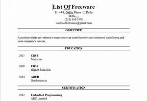 9 best free resume building software for windows With career igniter resume builder