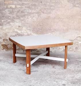 Table Basse Scandinave Vintage : table basse scandinave carr e vintage les vieilles choses ~ Teatrodelosmanantiales.com Idées de Décoration