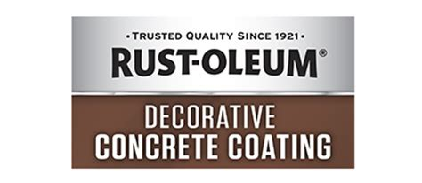 rust oleum decorative concrete coating decorative concrete coating brand page