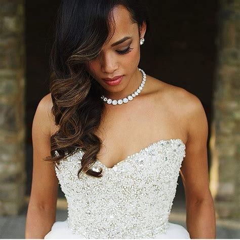 2019 popular wedding hairstyles for african bridesmaids