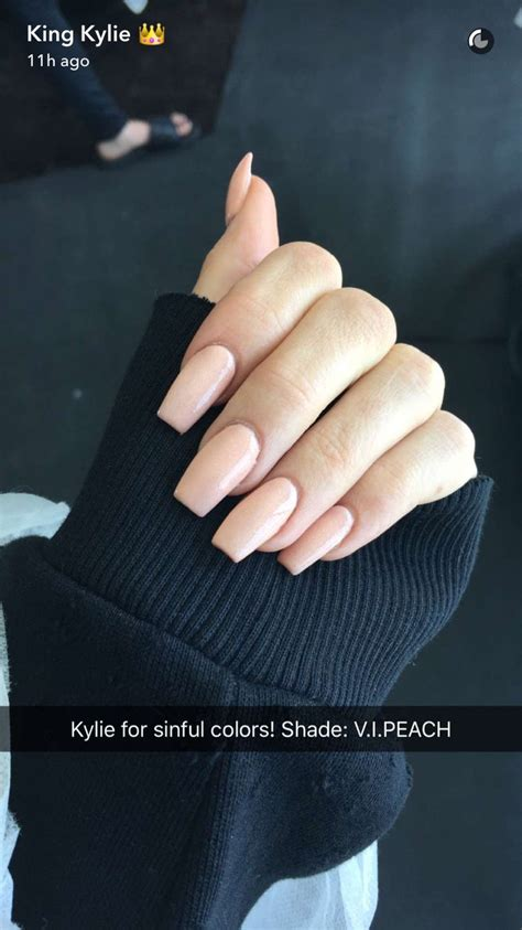 jenner nail color the 25 best jenner nails ideas on
