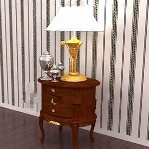Table De Chevet Ronde : bois brun table de chevet ronde 3d model download free 3d models download ~ Teatrodelosmanantiales.com Idées de Décoration