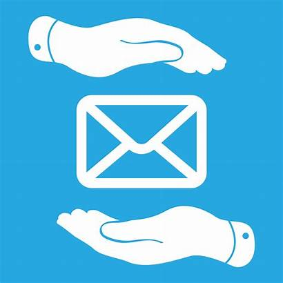 Message Icon Care Take Hands Received Messages