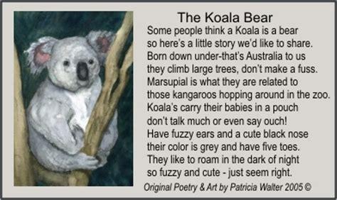 Poems About Koala Bears