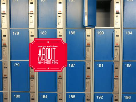 6 Important Facts You Need To Know About Safe Deposit Boxes Argos 4 Drawer Storage Tower Stanley 24 5 Tool Pagnell 3 Door Wardrobe White 20 In Bottom Mount Slides Set Samsung Refrigerator Crisper Front Removal Casio Cash Parts Bedroom Drawers Gumtree Large Mirrored Two Jewellery Box