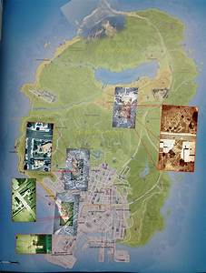 Here's The Map Of 'GTA 5's' Los Santos