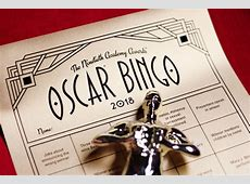 Oscar Bingo, Ballots & Drinking Game 2018 Academy Awards