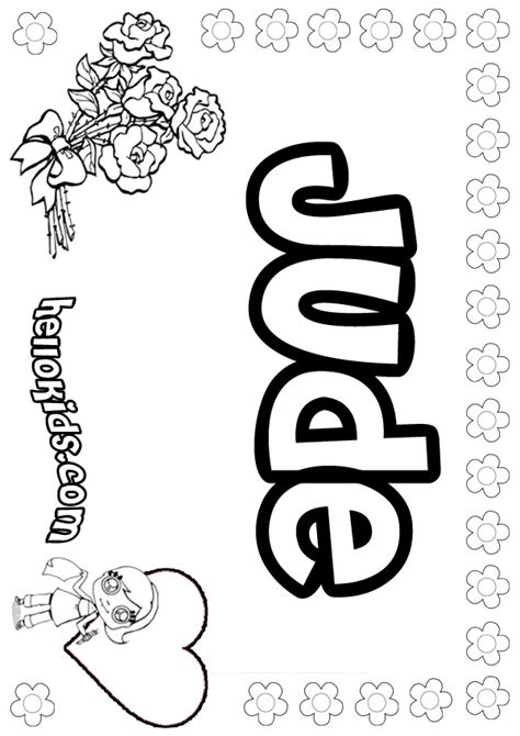 jude coloring pages hellokidscom