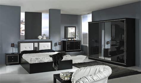 Italian Versace Style Bedroom With 6 Door Wardrobe