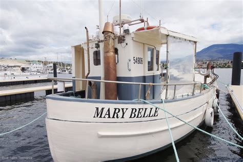 Commercial Fishing Boats For Sale Tasmania by 48 Tasmanian Fishing Boat Quot Mary Belle Quot Commercial