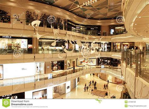 shopping mall  shanghai editorial stock photo