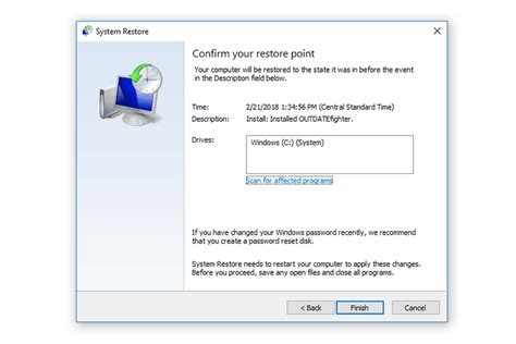 How To Use System Restore (Windows 10, 8, 7, Vista, XP