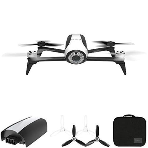 parrot bebop  quadcopter drone  hd mp flight camera white  inclusive pack includes