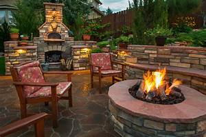 Outdoor, Fire, Pits, And, Fireplace, Ideas, For, Your, Backyard