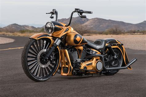 La Chupacabra Softail Air Ride Kit
