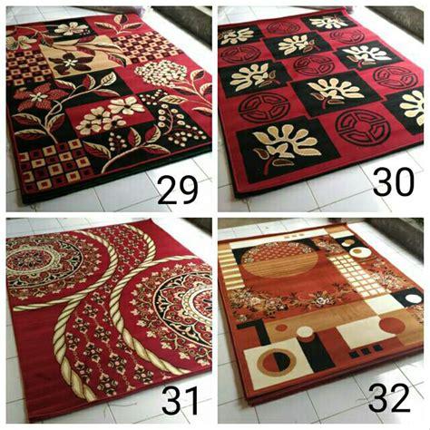 jual karpet permadani moderno 115x155cm motif i di lapak