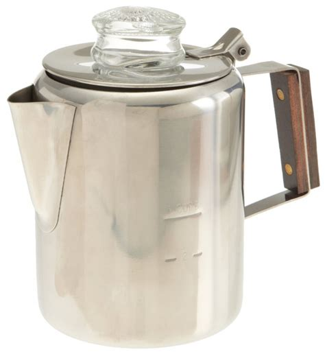 Percolating coffee on a portable gas stove is similar to making it over a campfire. 5 Best Stovetop Percolators - Enjoy hot, fresh coffee whenever you want - Tool Box