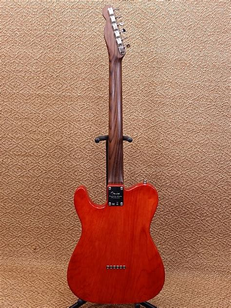 Warmoth Custom Telecaster  Solid Rosewood Neck Reverb
