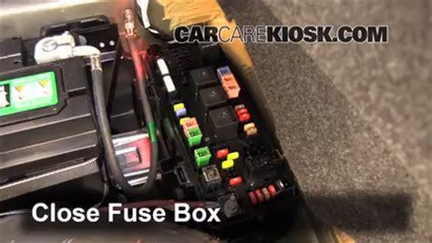 interior fuse box location   dodge charger