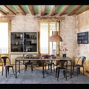 Suspension Industrielle Maison Du Monde : l 39 incontournable style industriel selon maisons du monde ~ Teatrodelosmanantiales.com Idées de Décoration