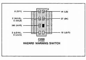 Needing Connector Wiring And Color Code  For 1990 Ford