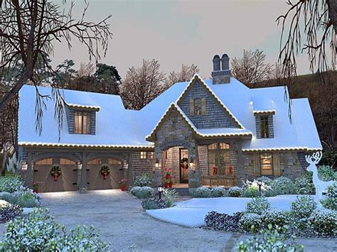 french country cottage house plan craftsman  french