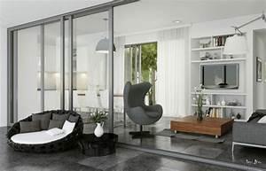 Style Deco Salon : idee deco salon design ~ Zukunftsfamilie.com Idées de Décoration