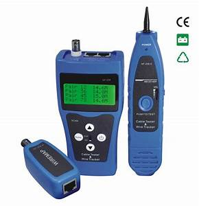 China Network Ethernet Lan Phone Cable Tester Scanner Rj45