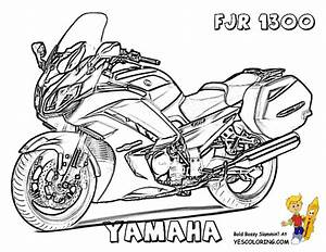 mighty motorcycle coloring pages pinterest With honda bikes street