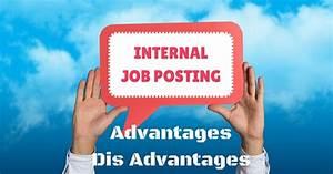 Internal Job Posting - Top 15 Advantages and Disadvantages ...