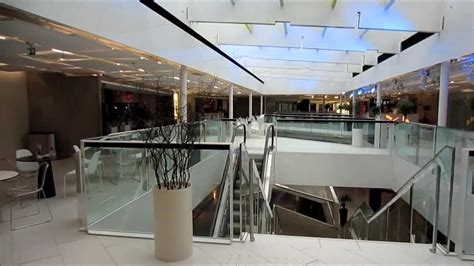modern architecture kluuvi shopping center interior