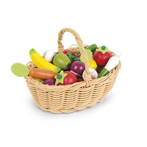cuisine janod en bois panier fruits et légumes jouet en bois cuisine janod