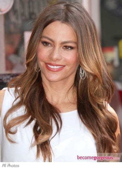pictures of hair color styles sofia vergara hair color sofia vergara wavy 6848
