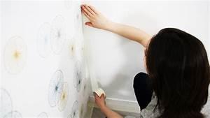 Peinture Sur Papier Peint Existant : comment peindre sur du papier peint peintures de ~ Premium-room.com Idées de Décoration