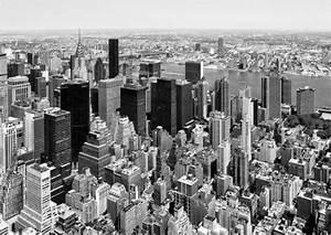 Bild New York Schwarz Weiß : new york skyline poster von hans j rgen malchow ~ Bigdaddyawards.com Haus und Dekorationen