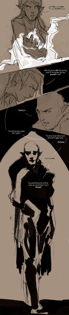 Dragon Age Kink Meme - amazing cosplay of solas and inquisitor lavellan dragon age geekiness pinterest dragon