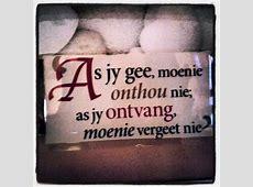 Afrikaans Quotes HėŞāiđ_ŞhēŞåiđ Pinterest Afrikaans