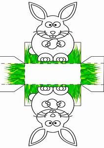 Hase Vorlage Zum Ausschneiden : osterk rbchen vorlage malen basteln osterk rbchen ~ Lizthompson.info Haus und Dekorationen