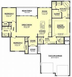 House Plan 100 [ 4 Bedroom Ranch Style House Plans ] Plain ...