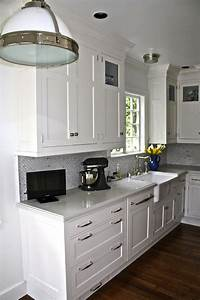 toe kick drawer transitional kitchen william adams With best brand of paint for kitchen cabinets with restoration hardware wall art