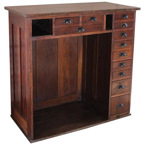 vintage metal storage cabinet vintage oakwood jeweler 39 s cabinet storage unit metal