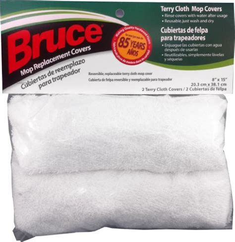 bruce mop bruce replacement terry cloth mop covers 000988025491 toolfanatic com