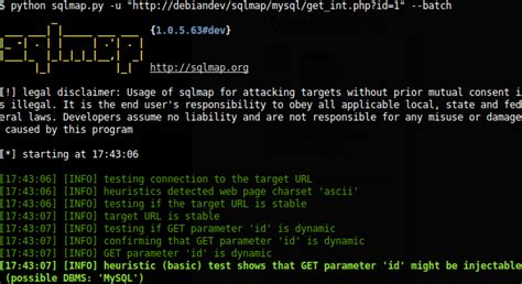 sqlmap automatic sql injection tool  released