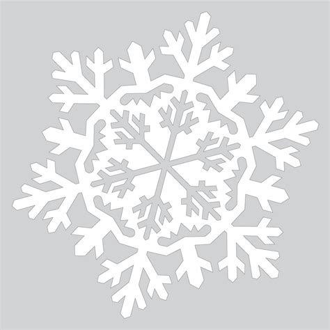 Snowflake Template How To Make Snowflake In The Snowflake Ornament Tutorial