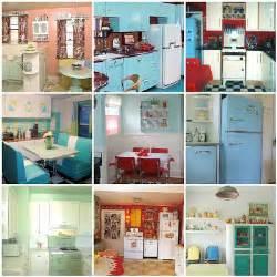 retro kitchen decor ideas shabby vintage retro kitchens