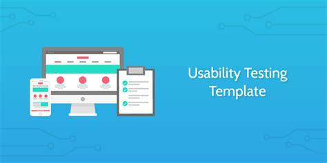 usability testing template process street