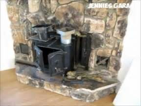 Installing Wood Burning Fireplace Insert by How To Take Out A Fireplace Amp Install Wood Pellet Stove