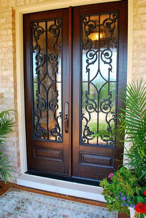 double entry doors ideas  pinterest entry