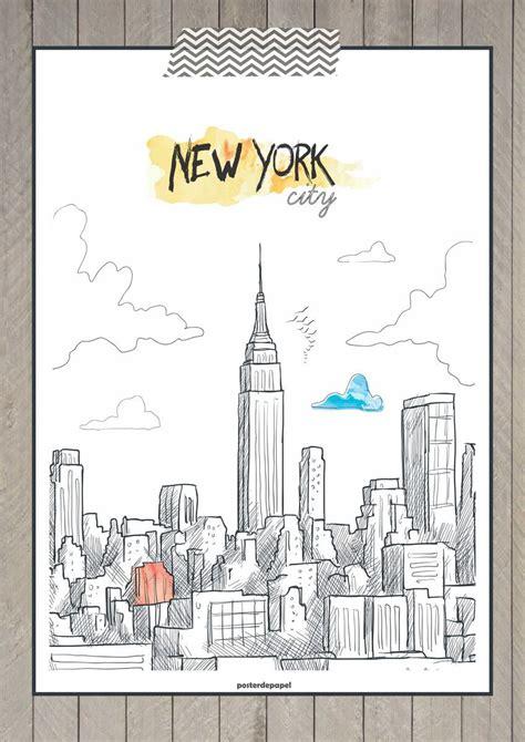 poster  york poster de papel elo  imagens