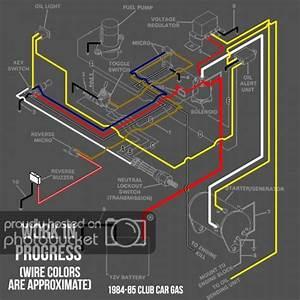 1984 Club Car Wiring Diagram
